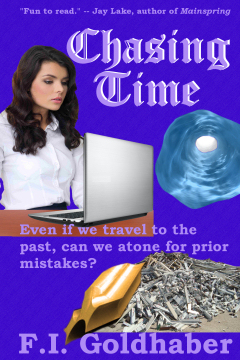 Chasing Time by F.I. Goldhaber, author of fantasy, horror and science fiction